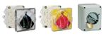 ISOLATOR SWITCHES FOR DOOR MOUNTING, BASE PANEL AND WALL
