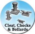 Cleat, Chocks, Bollards & Fairleads