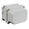Watertight UNAV 2181 junction enclosures with blind walls, with terminal block, in thermosetting material - IP67