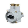 Watertight UNAV 2162 rotary switches in brass enclosure painted marine grey, with UNAV 1948, cable glands 250V - IP6