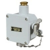 Watertight UNAV 1436 interlocked socket-outlets in brass enclosure painted marine grey, with cable glands UNAV 1948