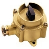 UNAV 2162 watertight rotary control switch in solid brass enclosure 250V - IP66